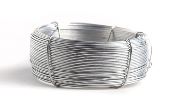 Wire galvanized
